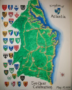 Map of Atlantia, AS XXVI